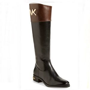 MICHAEL Michael Kors Hayley Leather Boot